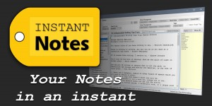 Beitragsbild des Blogbeitrags InstantNotes – the end of text note chaos