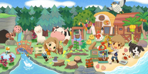Beitragsbild des Blogbeitrags Story of Seasons: Pioneers of Olive Town im Test