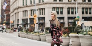 Beitragsbild des Blogbeitrags FASHION: FLORAL DRESS x NEW YORK STREETSTYLE