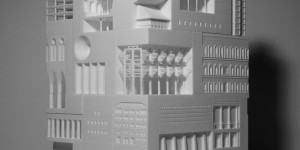 Beitragsbild des Blogbeitrags Japanese Architect Fits More Than 30 Iconic Buildings in One 3D Printed Object