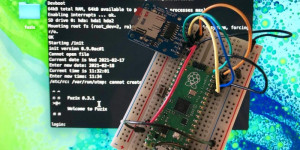 Beitragsbild des Blogbeitrags How to get started with FUZIX on Raspberry Pi Pico