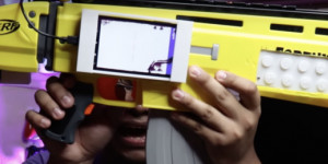 Beitragsbild des Blogbeitrags Play Call of Duty with a Raspberry Pi-powered Nerf gun