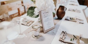 Beitragsbild des Blogbeitrags Rustic Wedding Decoration & Styling