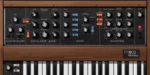 Beitragsbild des Blogbeitrags 100 Free Patches For The Moog Minimoog Model D Synthesizer App