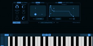Beitragsbild des Blogbeitrags NPD Is A New Phase Distortion Synthesizer For iOS With AUv3 Support