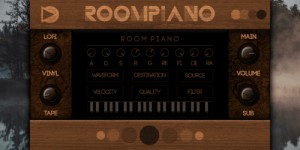 Beitragsbild des Blogbeitrags SampleScience Room Piano v2 Released, Free Lo-Fi Piano Rompler Plugin (PC & Mac)