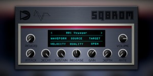 Beitragsbild des Blogbeitrags SampleScience SQ8ROM Is A Free Plugin Instrument That Inspired By The Ensoniq SQ-80