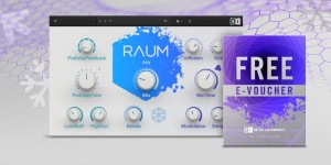 Beitragsbild des Blogbeitrags Native Instruments Holiday Gifts: Raum Free Soundscape Reverb Plugin, A 25$/€ Voucher & Giveaway