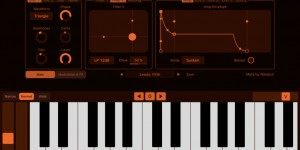 Beitragsbild des Blogbeitrags Mela Synth, New Virtual Analog Synthesizer For iPad With AUv3 Support