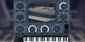 Beitragsbild des Blogbeitrags Audio Animals STATUS, Free Virtual Instrument (VST/AU) With Casio LK-210 Sounds