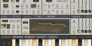 Beitragsbild des Blogbeitrags Synthmaster One, The iPad Version Of KV331 Audio's Wavetable Synth Is Now Also Free