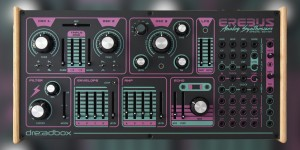 Beitragsbild des Blogbeitrags Dreadbox Erebus 3 Synthesizer Special Edition Is Available Now Worldwide