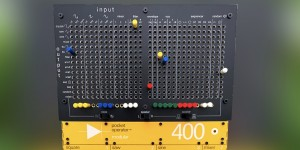 Beitragsbild des Blogbeitrags POM-400 Matrix Kit Turns A Pocket Operator 400 Modular Synth Into A Synthi