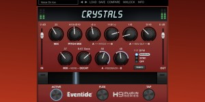 Beitragsbild des Blogbeitrags Eventide Crystals, New H9 Plugin & iOS App Packed With Special Pitch, Delay & Reverb Effects