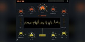 Beitragsbild des Blogbeitrags W.A. Production Intros Orchid, New Shimmering Chorus Effect Plugin