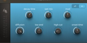 Beitragsbild des Blogbeitrags Blue Mangoo Software Releases Atmosphere Cloud Reverb For iOS