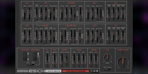Beitragsbild des Blogbeitrags Ekssperimental Sounds ES101,  New Synth Rack Extension For Classic Analog-Style Sounds