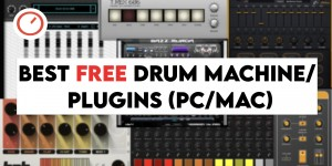 Beitragsbild des Blogbeitrags Best Freeware Drum Machine / Synthesizer Plugins For PC & Mac (2020)