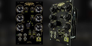 Beitragsbild des Blogbeitrags Arcaico Warhorse, A Dirty Analog Multi-Effect Module Made In Collaboration With Scuderia