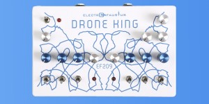 Beitragsbild des Blogbeitrags Electro Faustus Intros EF209 Drone King, New 6 Oscillator Drone Synthesizer