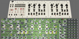 Beitragsbild des Blogbeitrags Behringer PCB Teaser, Oberheim Two-Voice Synthesizer In Eurorack In The Making?