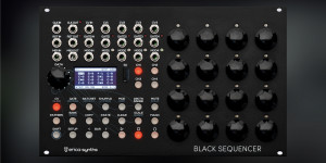 Beitragsbild des Blogbeitrags Erica Synths Black Sequencer, The 4-Track Sequencing Beast From Latvia Is Almost Here