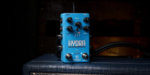 Beitragsbild des Blogbeitrags Keeley Hydra, Lush Reverbs Meet Tremolo Effects In A New Stereo Pedal