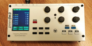 Beitragsbild des Blogbeitrags IXOX PreenFM3 Desktop 16-Voice Multi-Timbral FM Synthesizer Available Now