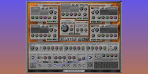 Beitragsbild des Blogbeitrags Beatassist.eu Kuma 508, Free Semi-Modular FM Synthesizer Plugin For PC/Mac