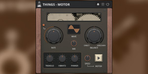 Beitragsbild des Blogbeitrags AudioThing Things Motor, Morphing Rotor Effect In Collaboration With Hainbach