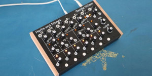 Beitragsbild des Blogbeitrags Herbs and Stones Gentle Wham, 6-Voice Analog Drum Synthesizer Teaser