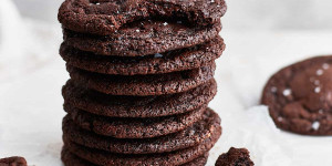 Beitragsbild des Blogbeitrags Chocolate Cookies made with Cocoa