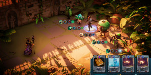 Beitragsbild des Blogbeitrags Cardaclysm: Shards of the Four – Roguelike Kartenspiel verlässt Early Access