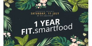 Beitragsbild des Blogbeitrags 1 Year FIT. – a smartfood celebration
