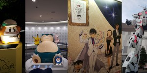 Beitragsbild des Blogbeitrags 3 Anime Cafes you have to see in Tokyo