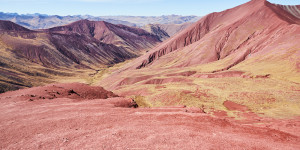 Beitragsbild des Blogbeitrags Video Rainbow Mountain & Red Valley