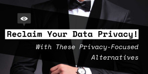Beitragsbild des Blogbeitrags Reclaim Your Data Privacy From Big Tech With the Best Privacy-Focused Alternatives