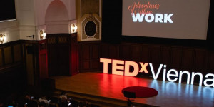 Beitragsbild des Blogbeitrags Recap:TEDxVienna Adventures Within Work- unusual times call for inspiring events