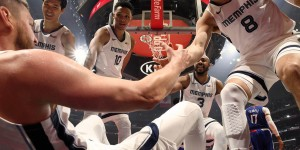 "Beitragsbild des Blogbeitrags How NBA Team Memphis Grizzlies Uses Walls.io  ""We Wanted a More Aesthetic View of Our Social Media Posts Across Our Brand"""