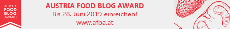 Austria Food Blog Award 2019